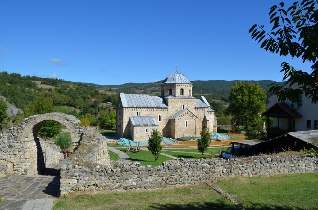 klooster servie gradac